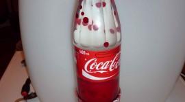 Coca Cola Lamp Wallpaper For Mobile