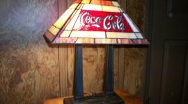 Coca Cola Lamp Wallpaper For PC
