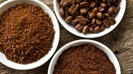 Coffee Granules Desktop Wallpaper