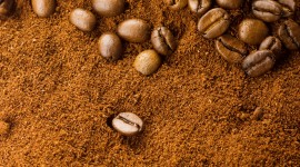 Coffee Granules Wallpaper For IPhone
