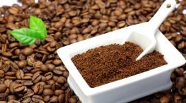 Coffee Granules Wallpaper Full HD
