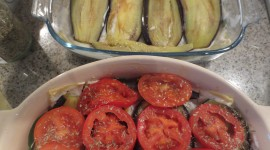 Courgettes With Tomatoes Wallpaper For Desktop