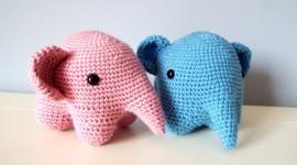 Elephant Toys Desktop Wallpaper