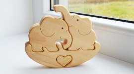 Elephant Toys Desktop Wallpaper HD