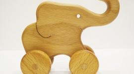 Elephant Toys Wallpaper