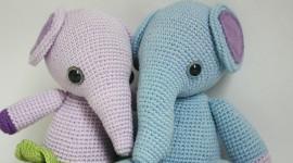Elephant Toys Wallpaper Full HD