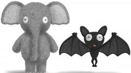 Elephant Toys Wallpaper HQ