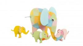 Elephant Toys Wallpaper HQ#1