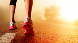 Feet Running Wallpaper