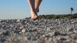 Feet Running Wallpaper Full HD