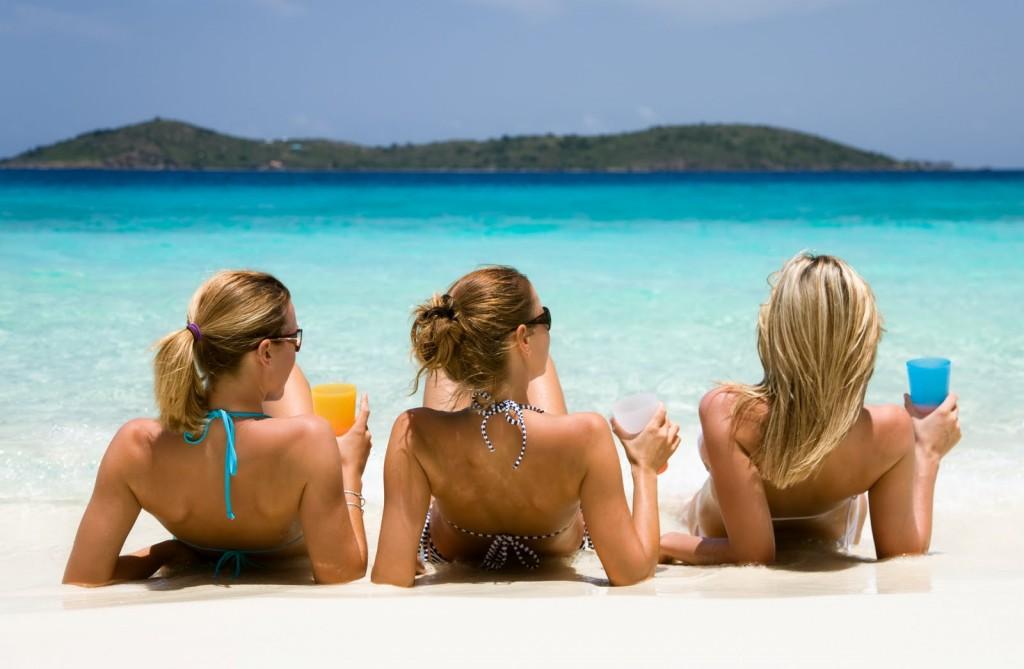 Girls Beachwear wallpapers HD