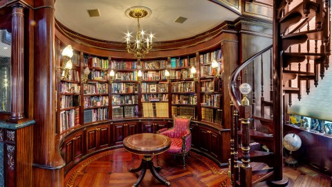 Home Library wallpapers high quality