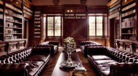 Home Library Wallpaper Gallery
