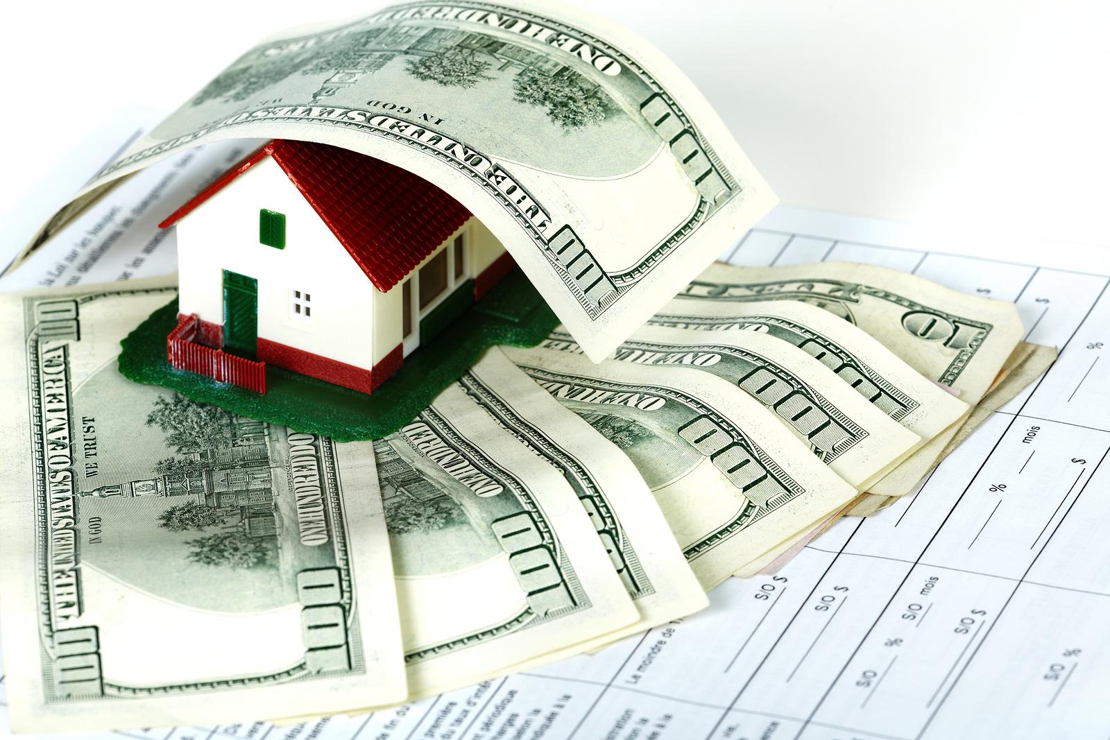 House And Money Desktop Wallpaper HD