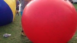 Inflatable Balls Wallpaper For IPhone