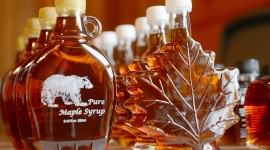 Maple Syrup Wallpaper