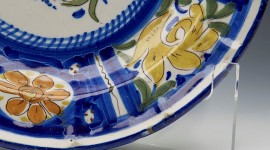 Painted Dishes Photo Download