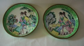 Painted Dishes Photo Free#2