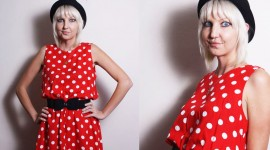 Polka Dot Dress Photo Free