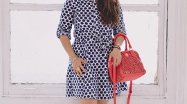 Polka Dot Dress Wallpaper For Android