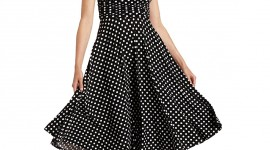 Polka Dot Dress Wallpaper For IPhone#1