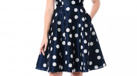 Polka Dot Dress Wallpaper For IPhone#3