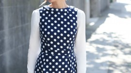 Polka Dot Dress Wallpaper For Mobile#2