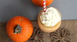 Pumpkin Milkshake Photo Download