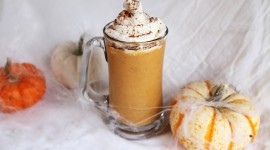 Pumpkin Milkshake Wallpaper