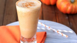 Pumpkin Milkshake Wallpaper Free