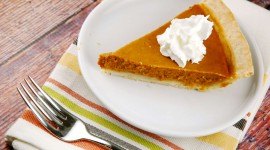 Pumpkin Pie Desktop Wallpaper HD