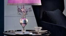 Purple Lamp Wallpaper