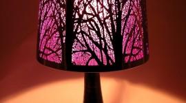 Purple Lamp Wallpaper For IPhone