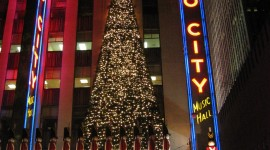 Radio City Music Hall Wallpaper For IPhone