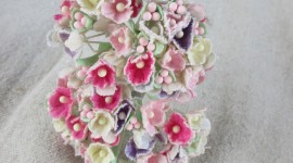 Rag Flowers Wallpaper For IPhone