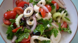 Salad From Squid Wallpaper 1080p