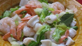 Salad From Squid Wallpaper High Definition