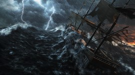 Ship Storm Best Wallpaper