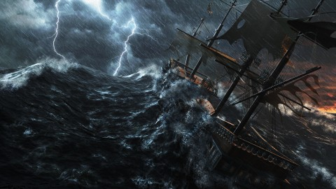 Ship Storm wallpapers high quality