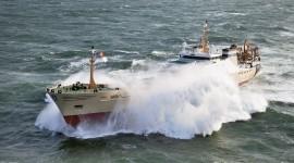 Ship Storm Photo