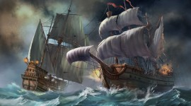 Ship Storm Photo Free