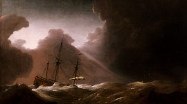 Ship Storm Wallpaper Download