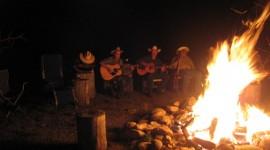 Songs Around The Campfire Desktop Wallpaper