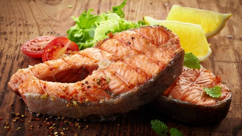 Steak Salmon wallpapers high quality