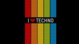 Techno Desktop Wallpaper HD