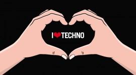 Techno Wallpaper Background