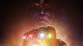 Thanos Wallpaper Background