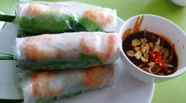 Vietnamese Rolls Photo Free