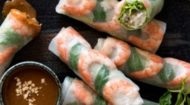 Vietnamese Rolls Wallpaper