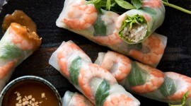 Vietnamese Rolls Wallpaper For Android